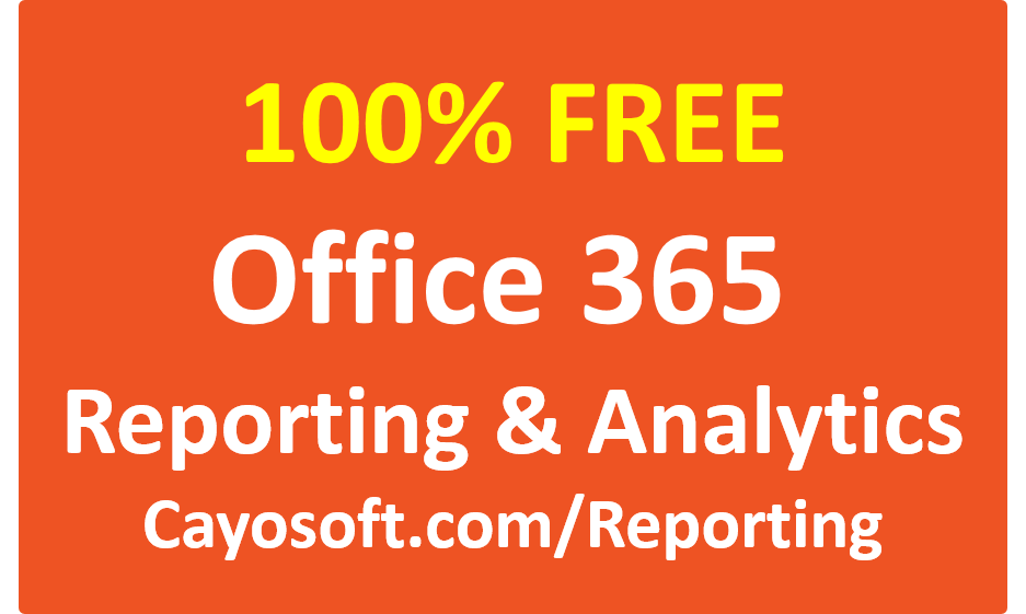 FreeOffice365Reporting