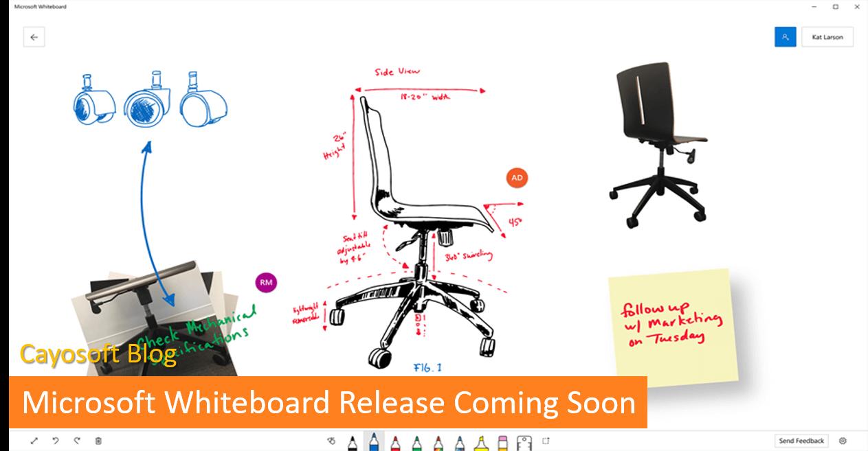 Microsoft Whiteboard Release Coming Soon