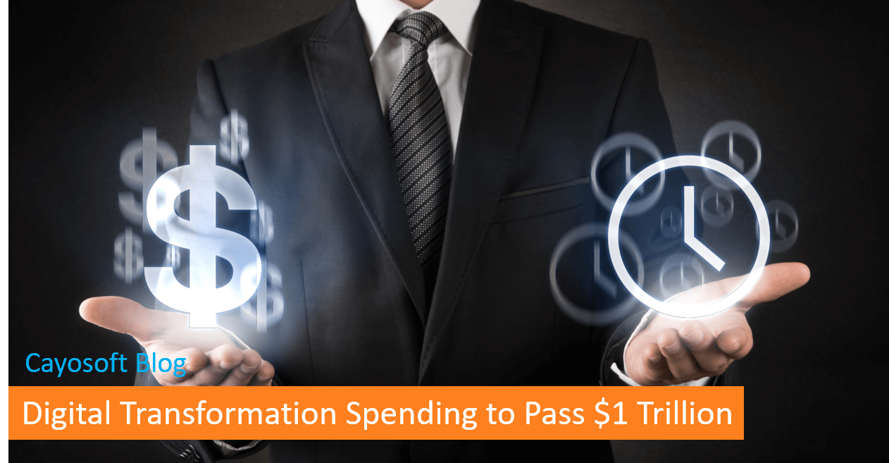 Digital Transformation Spending to Pass $1 Trillion