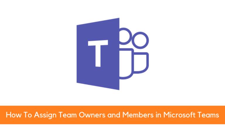 Add Team Members to Microsoft Teams